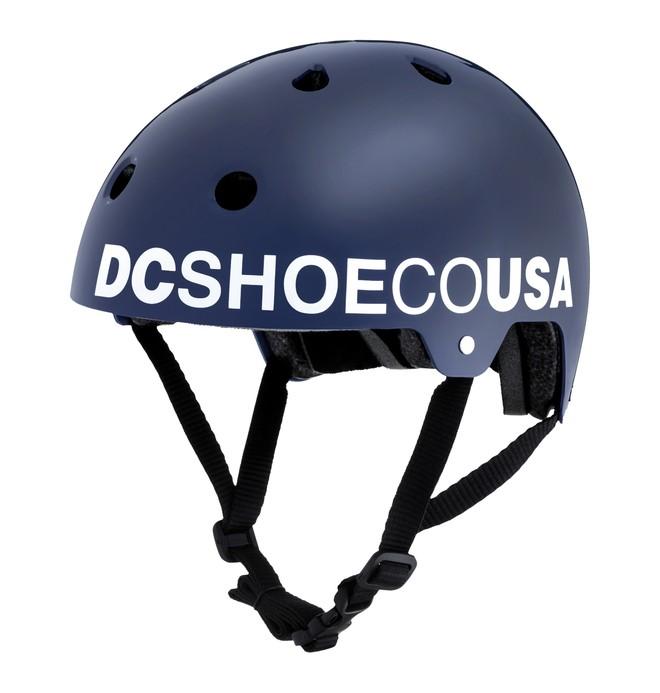 0 Askey 3 - Casco da skateboard Blue EDYHA03047 DC Shoes
