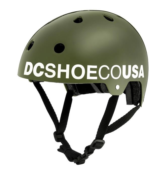 0 Скейтовый шлем Askey 3 Коричневый EDYHA03047 DC Shoes