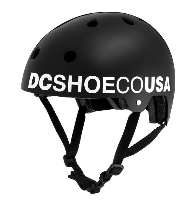 0 Askey 3 - Casco da skateboard Black EDYHA03047 DC Shoes