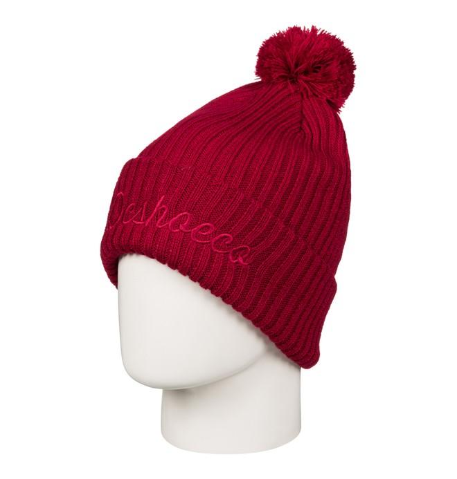 0 Men's Trilogy Bobble Hat Red EDYHA03050 DC Shoes