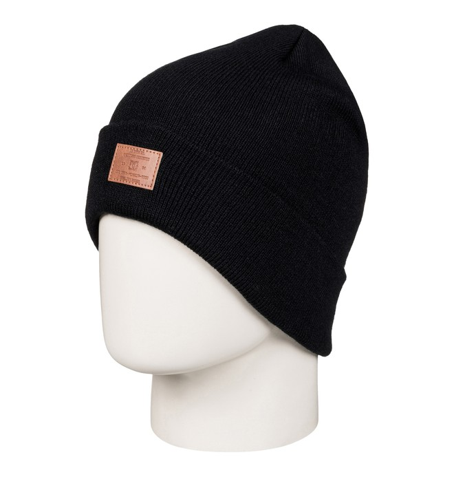 0 Label - Beanie met zoom Black EDYHA03054 DC Shoes