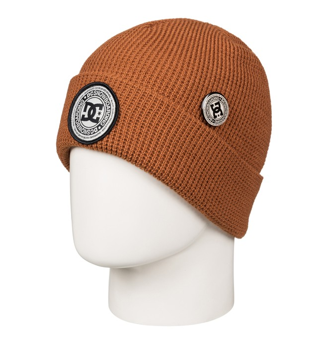 0 Neesh - Cuff Beanie Brown EDYHA03055 DC Shoes