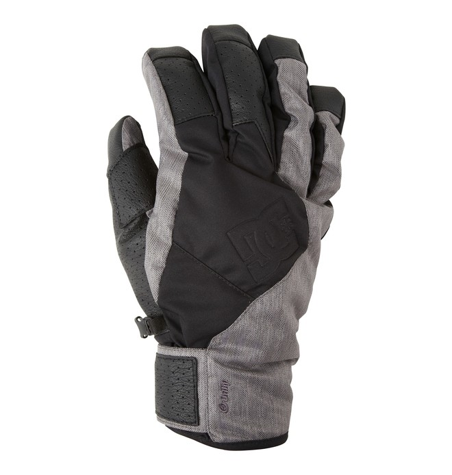 0 Men's Hiked Snowboard Gloves  EDYHN00030 DC Shoes