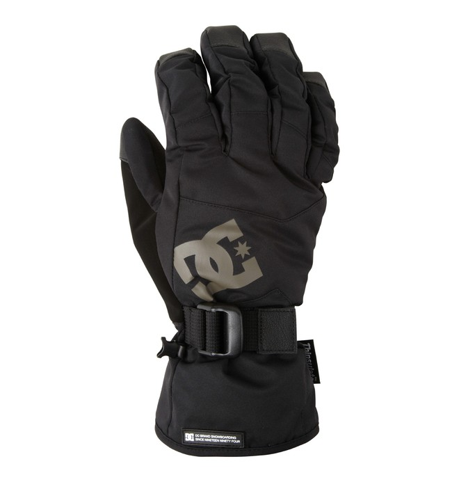 0 Men's Seger Over Snowboard Gloves  EDYHN00036 DC Shoes