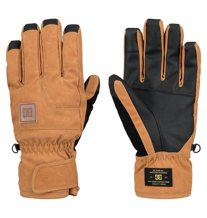 0 Men's Seger Gloves  EDYHN03004 DC Shoes