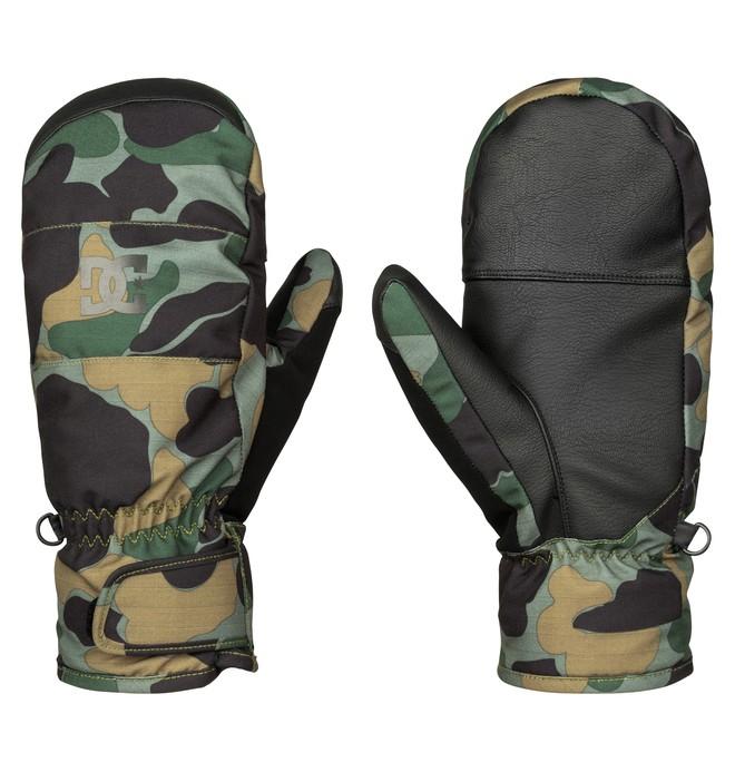 0 Seger - Snow Mittens Green EDYHN03020 DC Shoes
