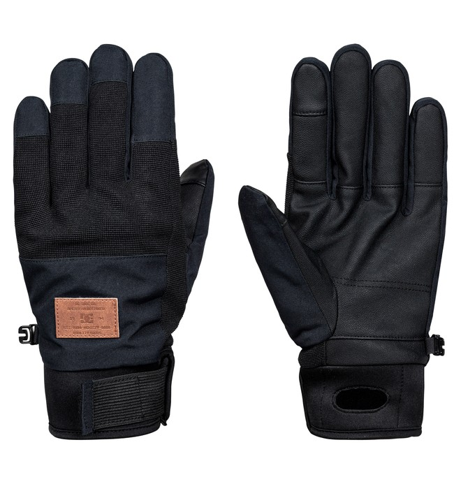 0 Industry - Snowboard/Ski Gloves Black EDYHN03025 DC Shoes