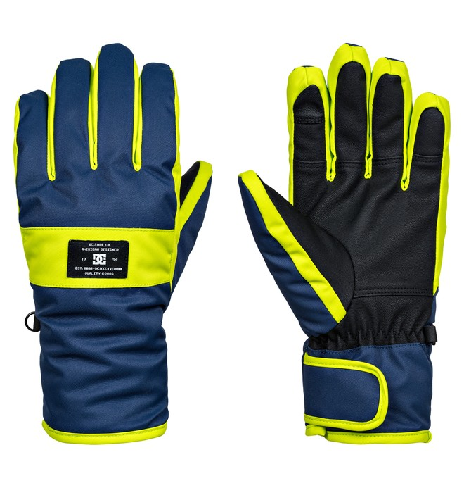 0 Franchise - Gants de snowboard/ski Bleu EDYHN03026 DC Shoes