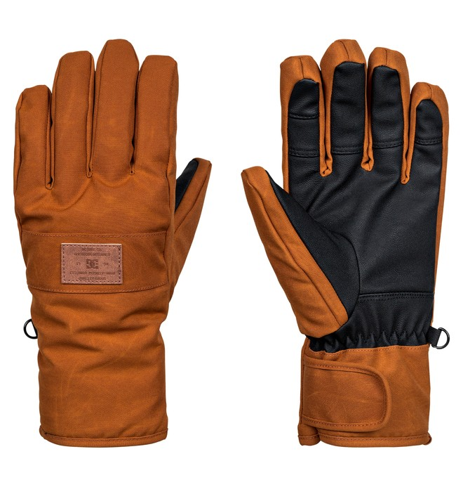 0 Franchise SE - Snowboard/Ski Gloves Brown EDYHN03032 DC Shoes