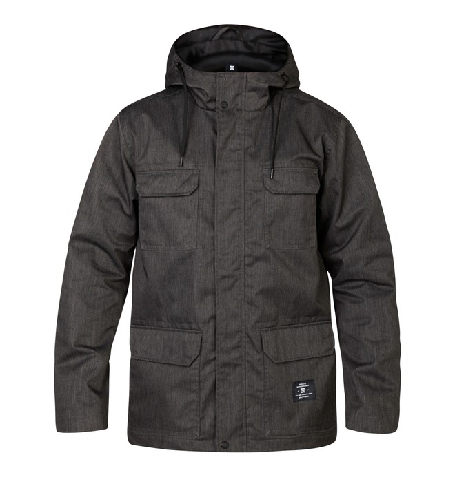 0 Mastadon Jacket Black EDYJK03001 DC Shoes