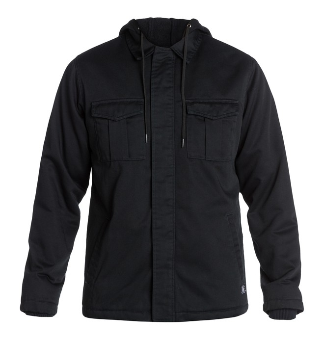 0 The Hood Jacket Black EDYJK03002 DC Shoes
