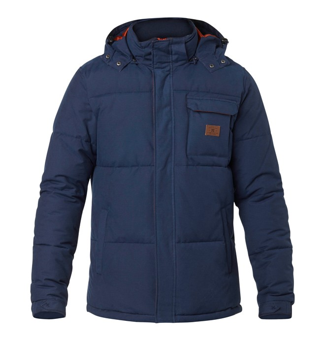 0 Men's Arctic Jacket Blue EDYJK03005 DC Shoes