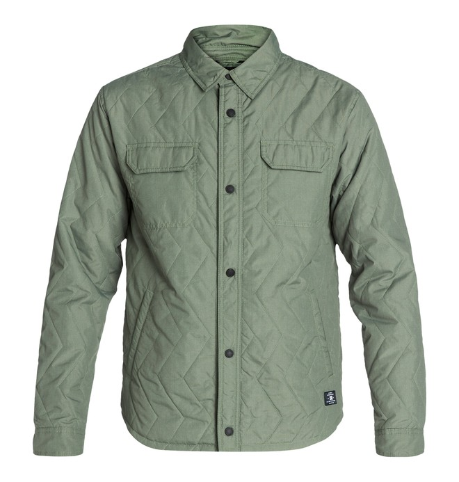 0 Munich Jacket Green EDYJK03010 DC Shoes