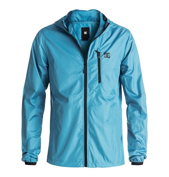 0 Men's Dagup Water Repellent Windbreaker Jacket Blue EDYJK03020 DC Shoes
