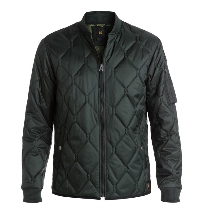 0 Men's Bombing Quilted Jacket  EDYJK03036 DC Shoes