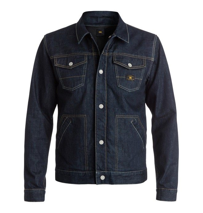0 Men's DC Denim Jacket  EDYJK03042 DC Shoes