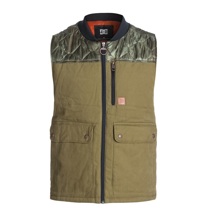 0 Men's Draft Vest  EDYJK03051 DC Shoes
