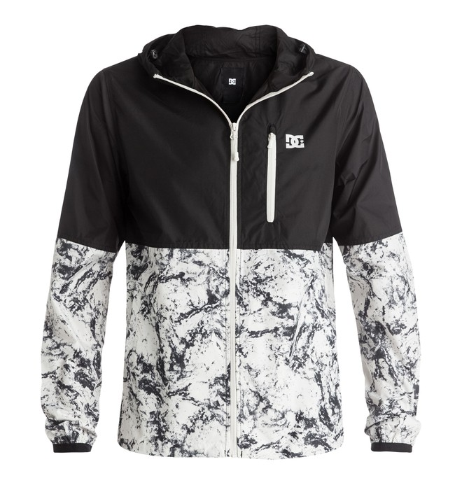 0 Men's Dagup Block Windbreaker White EDYJK03061 DC Shoes