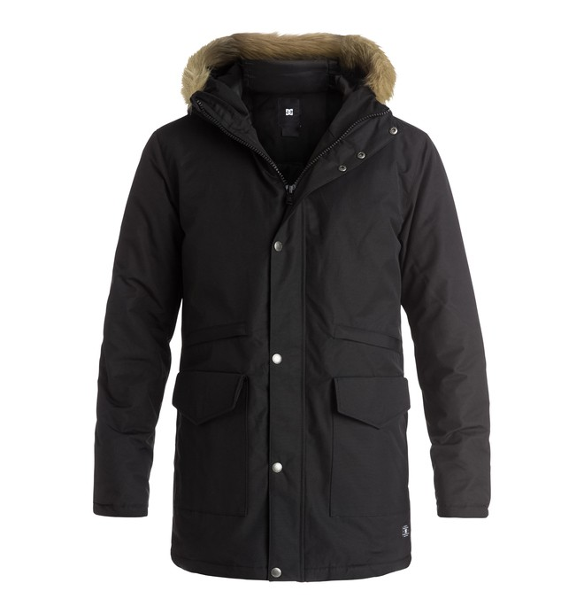 0 Bamburgh - Parka Noir EDYJK03077 DC Shoes
