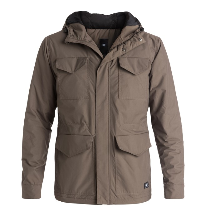 0 Fairburn - Parka Beige EDYJK03080 DC Shoes