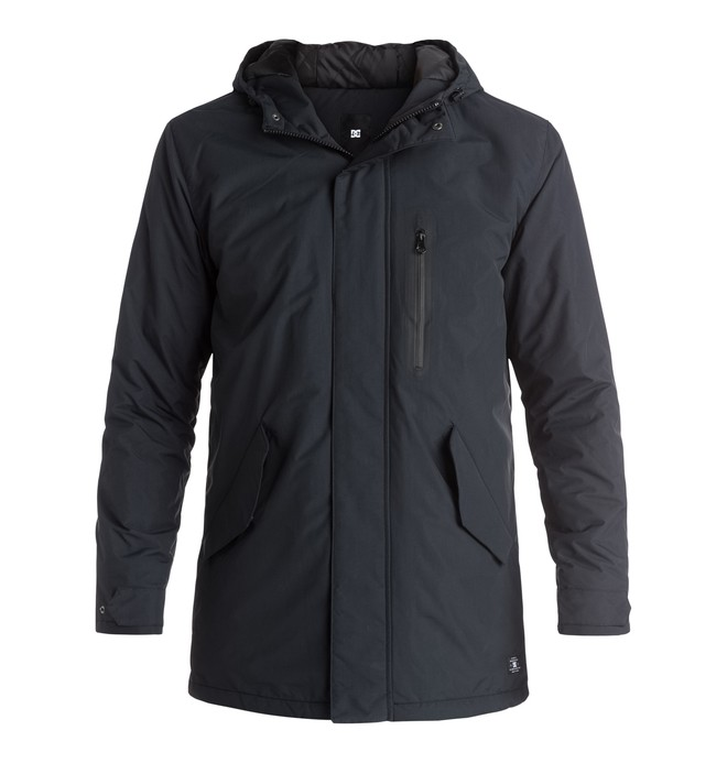 0 Grasmere - Parka imperméable Noir EDYJK03081 DC Shoes