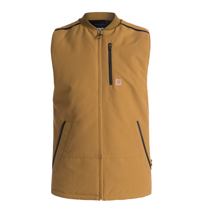 0 Draft - Technical Snow Gilet Brown EDYJK03086 DC Shoes