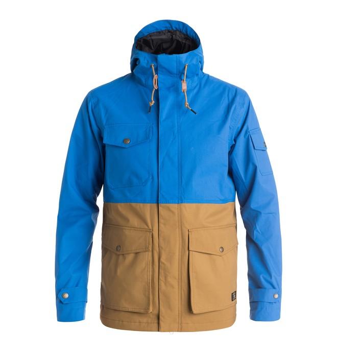 0 Tick - Snow Jacket Blue EDYJK03091 DC Shoes