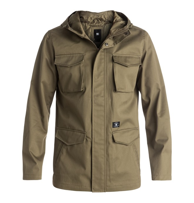 0 Mastadon - M65 Jacket Beige EDYJK03092 DC Shoes