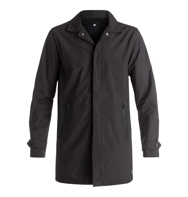 0 Whickham - Trench imperméable Noir EDYJK03103 DC Shoes