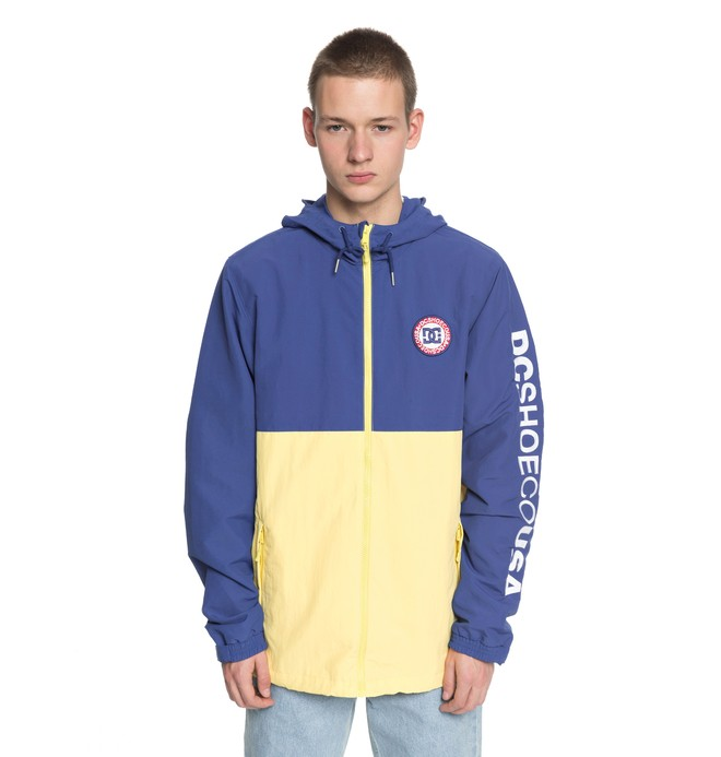 0 Men's Bah Way Block Windbreaker Yellow EDYJK03149 DC Shoes