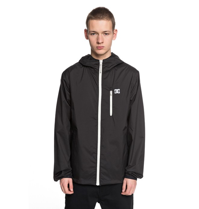 0 Men's Dagup 3 Windbreaker Black EDYJK03161 DC Shoes