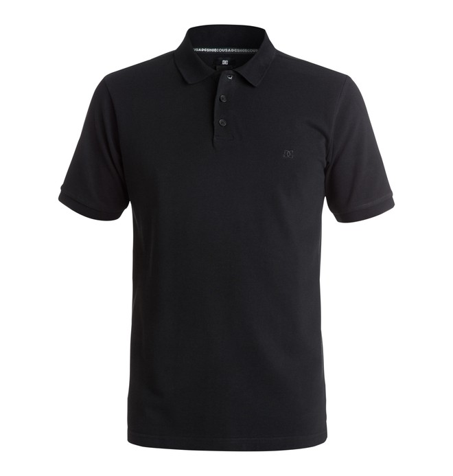 0 Men's Holborn Polo Shirt Black EDYKT03002 DC Shoes
