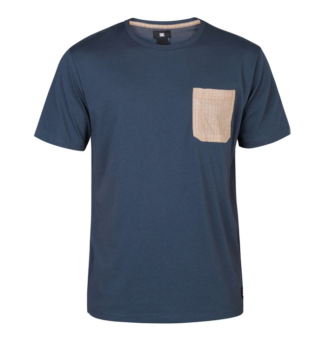 0 Upney Tee Blue EDYKT03004 DC Shoes