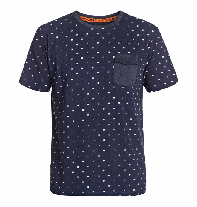 0 Men's All Over Crew Knit Top  EDYKT03023 DC Shoes