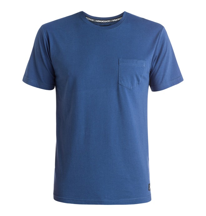 0 Pocket - T-Shirt Blue EDYKT03163 DC Shoes
