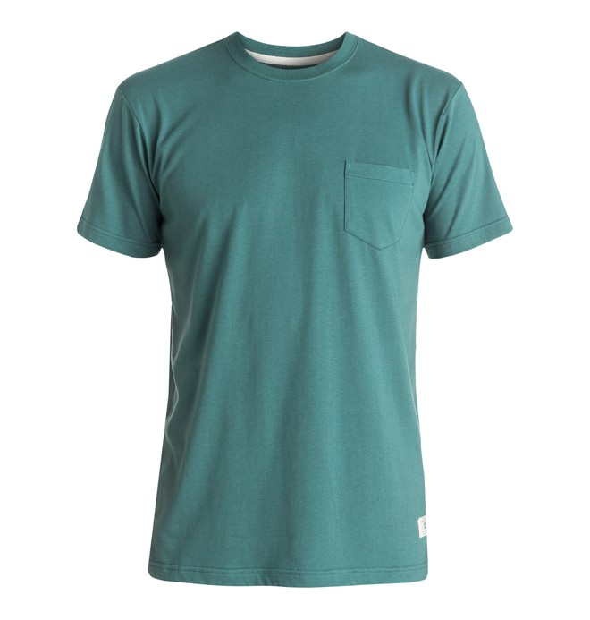0 Basic - Pocket T-Shirt Blue EDYKT03291 DC Shoes