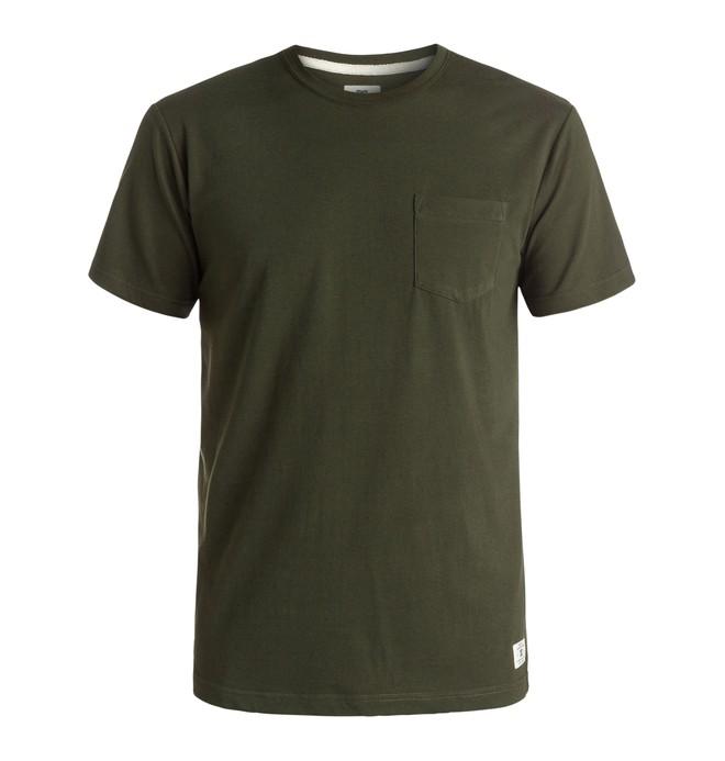 0 Basic DC - Pocket T-Shirt Brown EDYKT03291 DC Shoes