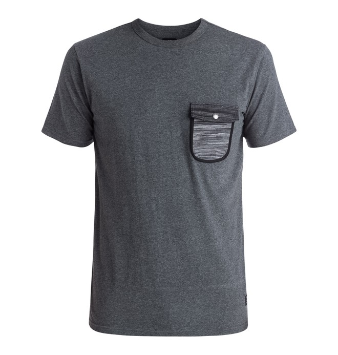 0 Burnsville - Pocket T-shirt Black EDYKT03302 DC Shoes