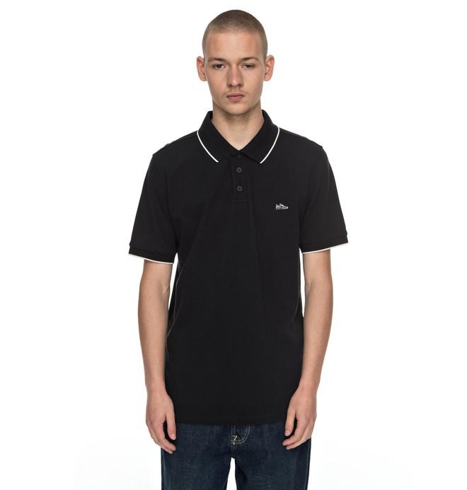 0 Milnor - Polo Shirt Black EDYKT03309 DC Shoes