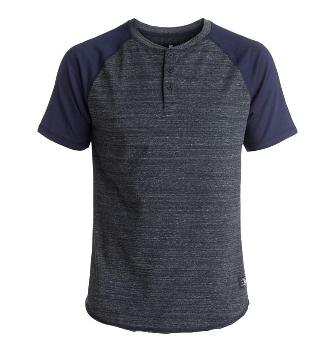 0 Enderlin - Tee-Shirt à manches courtes et col henley  EDYKT03317 DC Shoes
