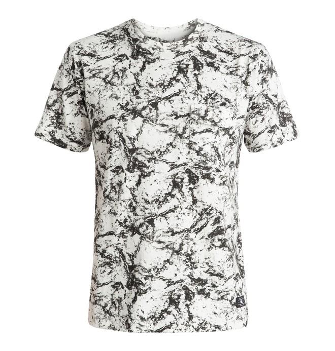 0 Evansville - Pocket T-Shirt White EDYKT03325 DC Shoes