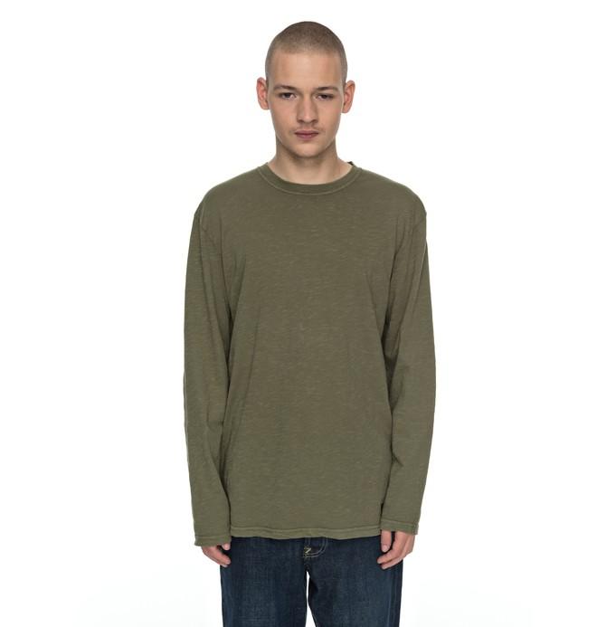 0 Ohlen - Long Sleeve T-Shirt Green EDYKT03350 DC Shoes