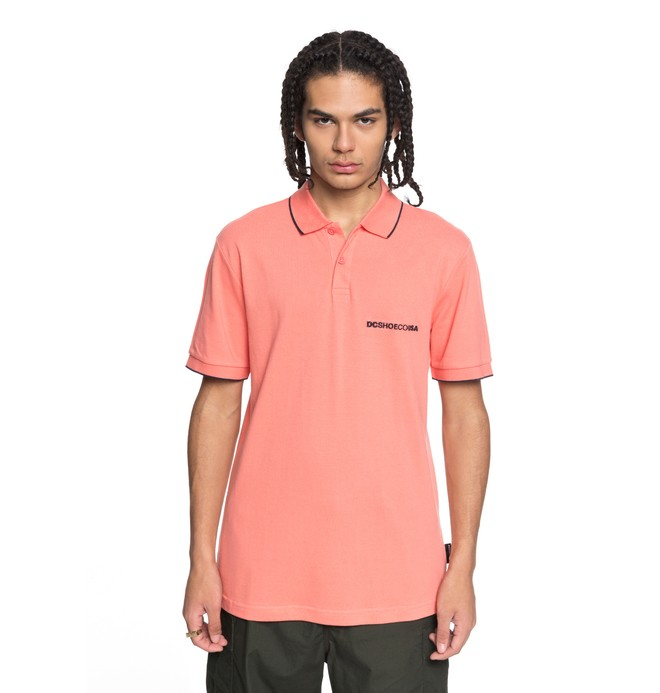 0 Lakebay - Polo Pink EDYKT03374 DC Shoes