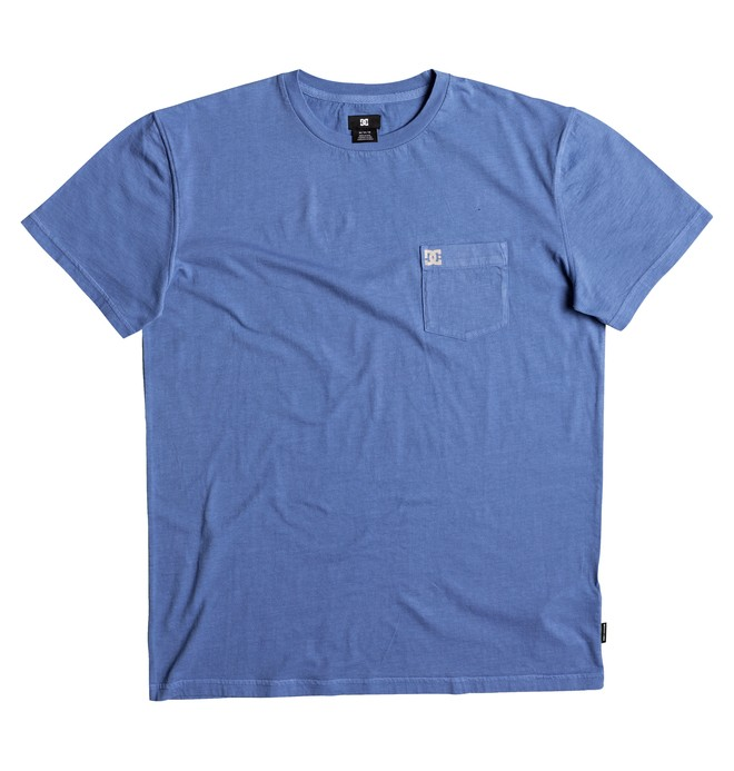 0 Dyed - T Shirt col rond Bleu EDYKT03375 DC Shoes