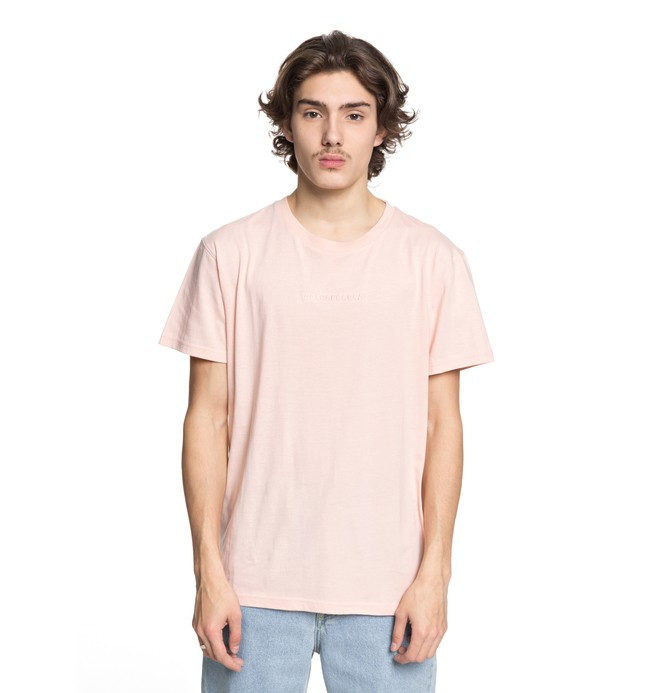 0 Men's Craigburn Tee Pink EDYKT03376 DC Shoes