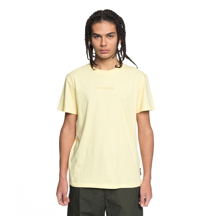 0 Craigburn - T-Shirt Yellow EDYKT03376 DC Shoes