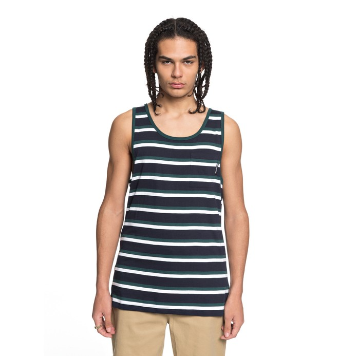 0 Men's Oakride Pocket Tank Blue EDYKT03382 DC Shoes