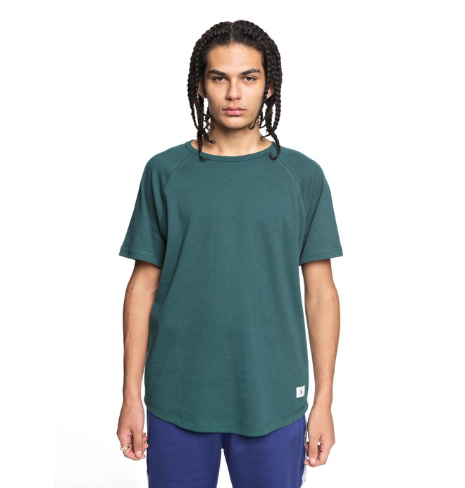 0 Men's Renfrew Tee Green EDYKT03390 DC Shoes