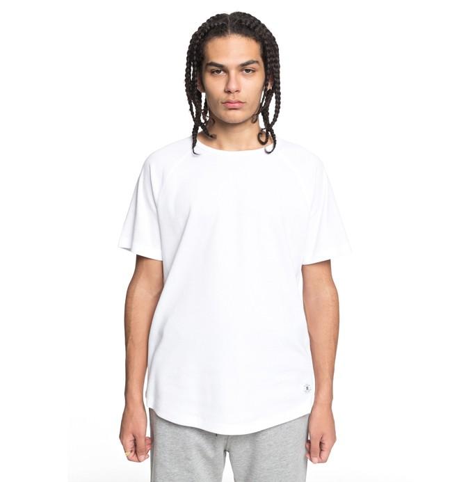 0 Men's Renfrew Tee White EDYKT03390 DC Shoes