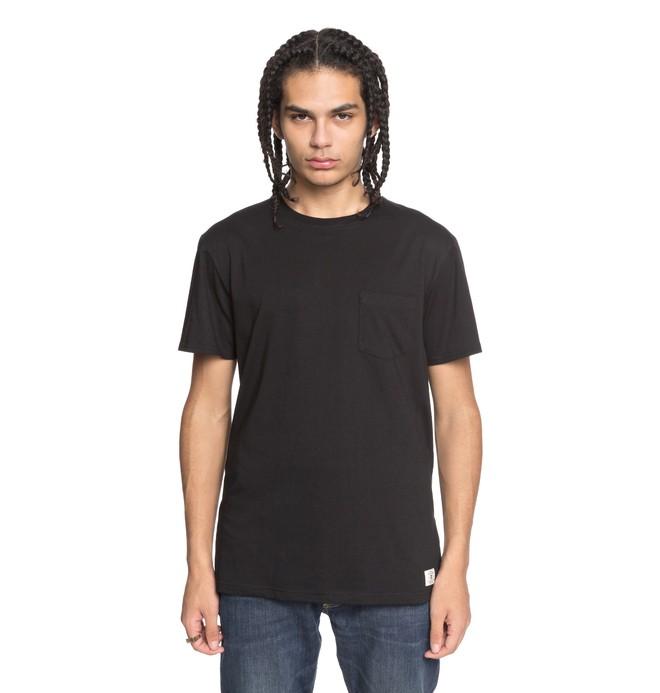 0 Men's Basic Pocket Tee Black EDYKT03394 DC Shoes